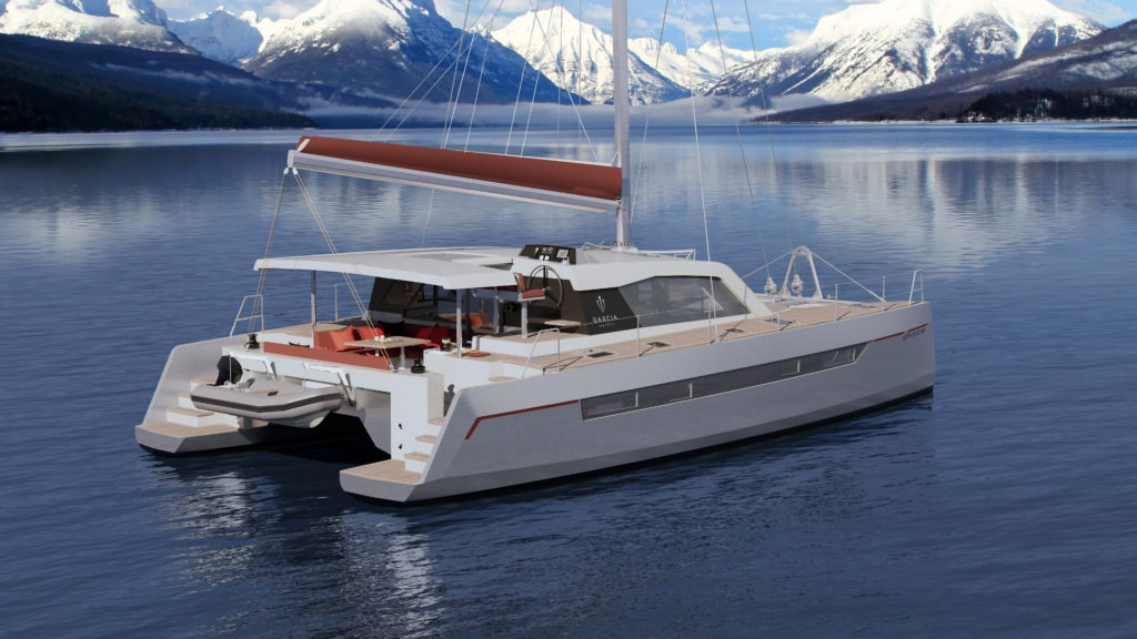 Aluminium Catamaran for Blue Water Cruising - Garcia Yachts
