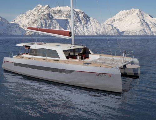Production launch of the Explocat 52 catamaran