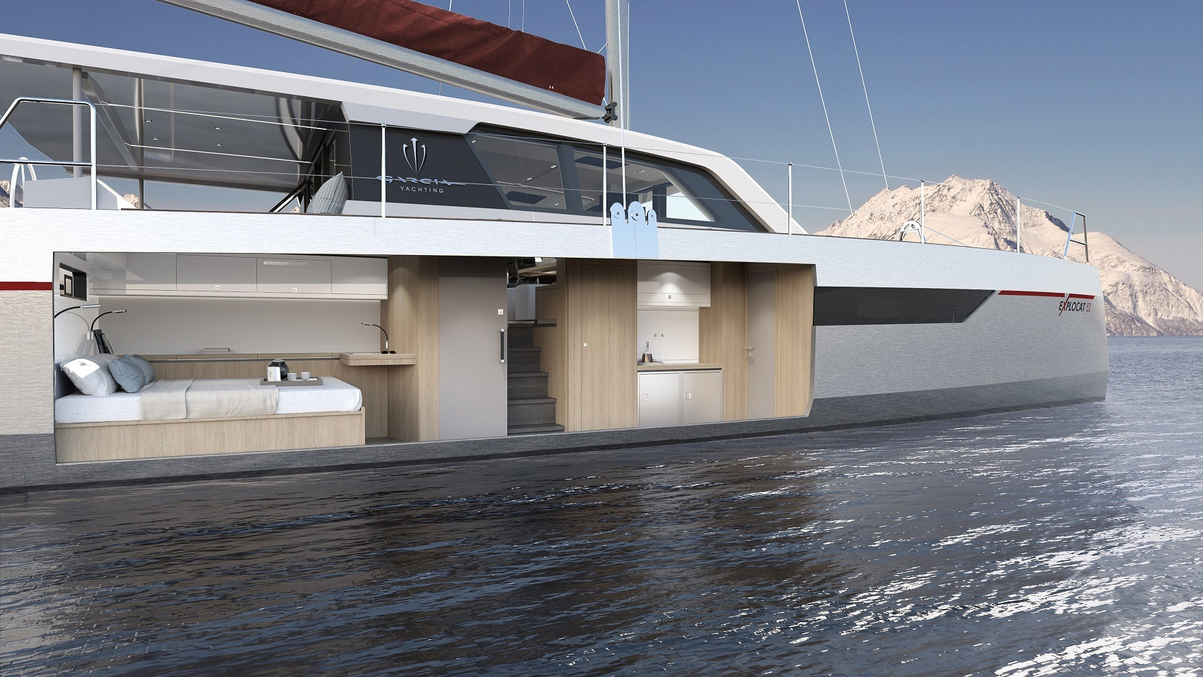 Explocat 52 - The Aluminium Exploration Catamaran - Garcia Yachts