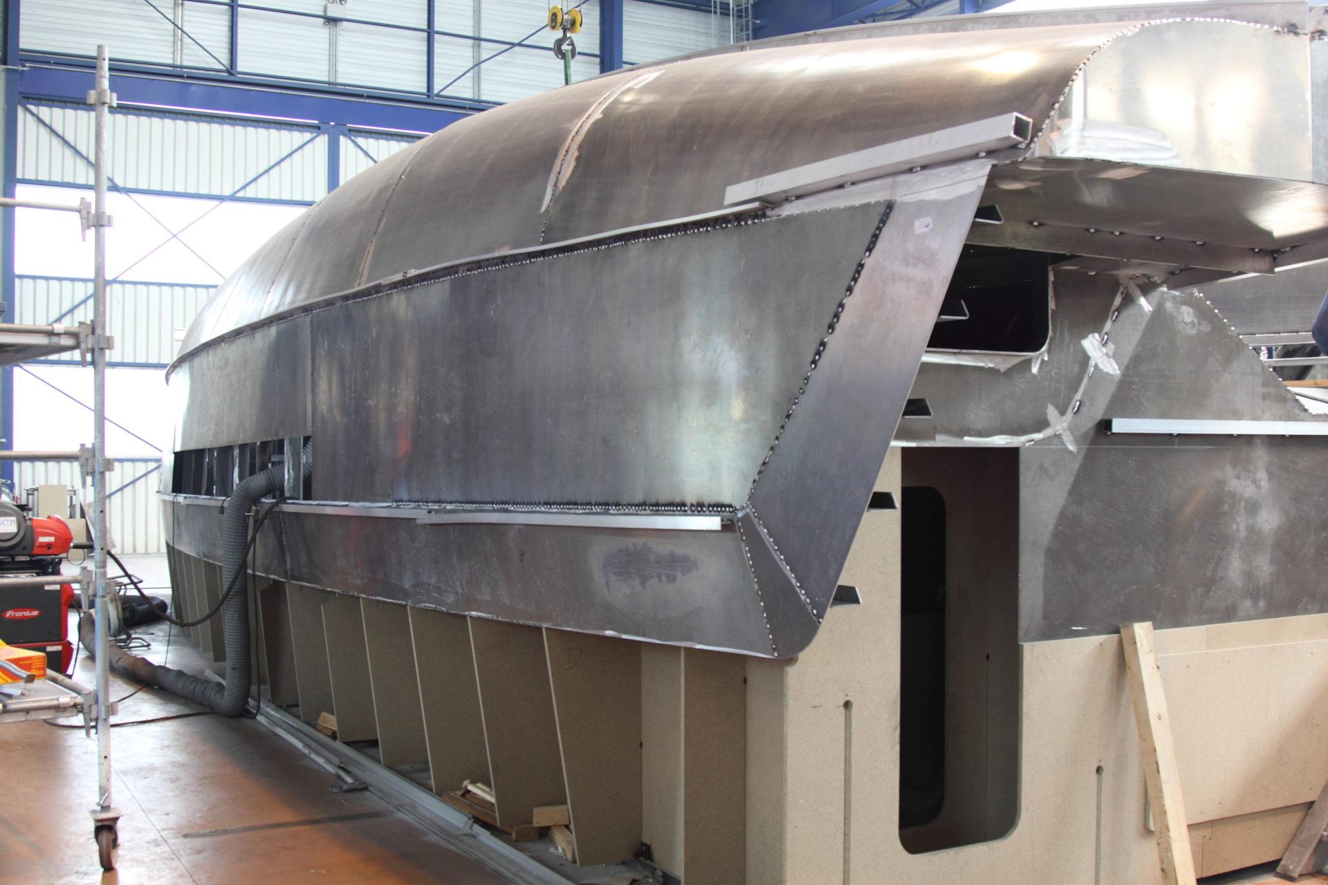 Catamaran Aluminium Explocat 52