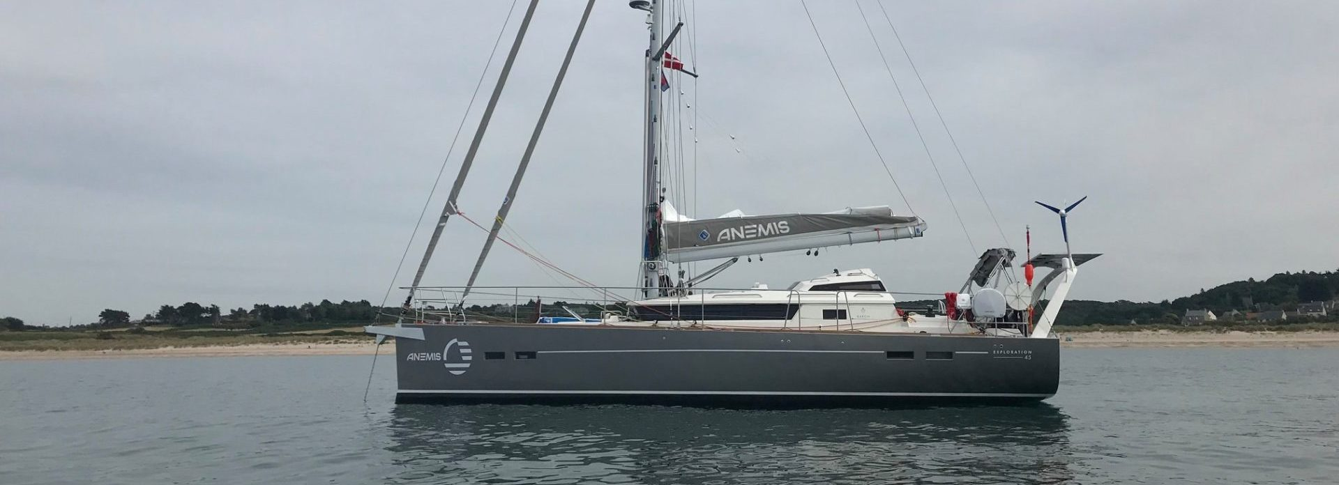Anemis The Hybrid Propulsion Exploration 45 Garcia Yachts