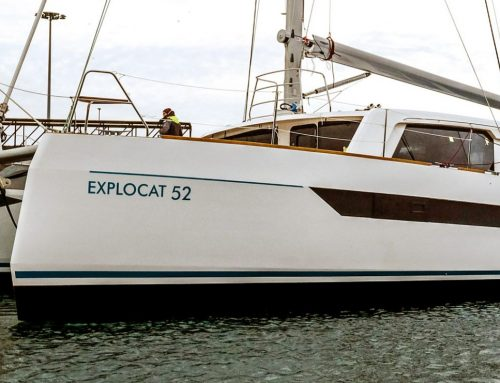 The Garcia Explocat 52 will be on show at the Cannes Yachting Festival