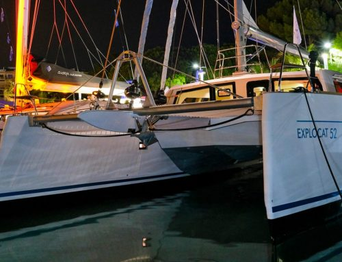 The Explocat 52 at Cannes Yachting Festival